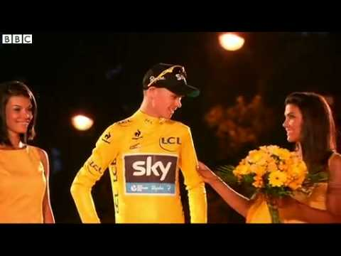Tour de France  Team Sky pay tribute to Chris Froome