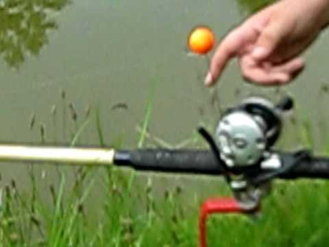 Cat fishing rod holders youtube for Homemade fishing rod holders for bank fishing