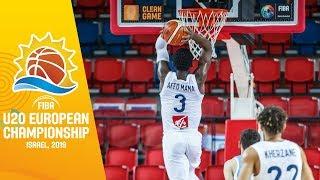 LIVE - France v Ukraine - FIBA U20 European Championship 2019