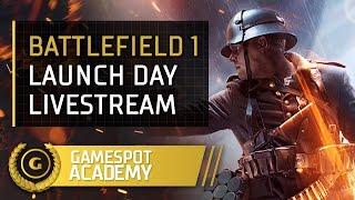 Battlefield Academy - Launch day livestream!