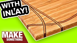 DIY Cutting Board with Inlay | Easy Woodworking Project