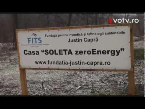 Casa Soleta zeroEnergy  la  Evo-TV