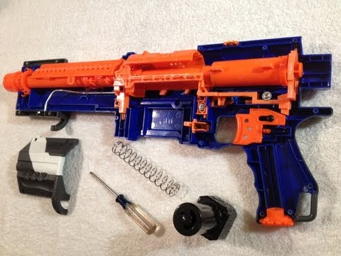 MOD GUIDE: Elite Alpha Trooper- 100ft+ w/ spring replcement. AR removal and more