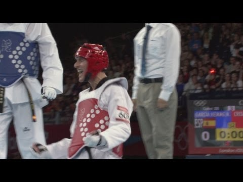 Men's Taekwondo -80kg Gold Medal Match - Spain V Argentina | London 2012 Olympics video