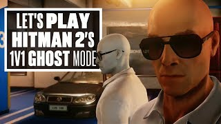 Hitman 2 Ghost Mode Gameplay - BRAND NEW HITMAN MULTIPLAYER MODE!