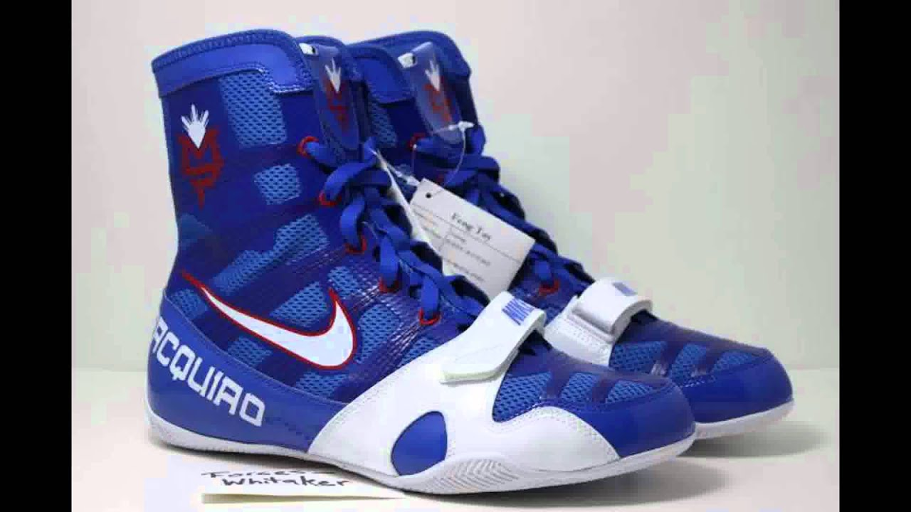 Nike Hyperko Boxing Shoes V Blue Red