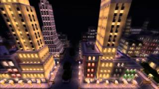 Minecraft: New York City & Burj Al Arab & Burj Khalifa