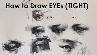How To Draw Eyes 1 Tight Approach