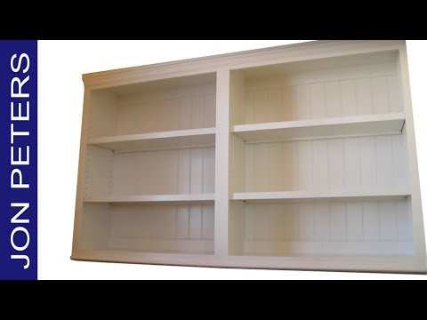 How to Build & Install Built-In Kitchen Pantry Cabinets