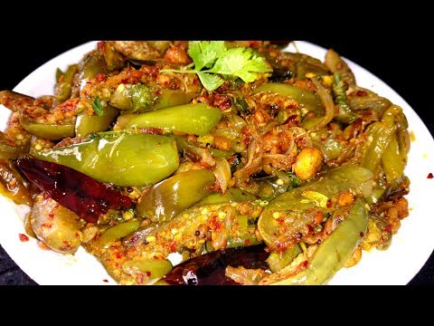 Vankaya Vellulli Karam Fry Recipe వంకాయ వెల్లులి కారం వేపుడు