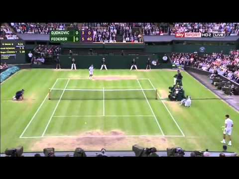 Roger Federer - Best Points @ Wimbledon '12 - (HQ)