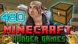Minecraft: Hunger Games w/Mitch! Game 480 - BIG WIN! NEW SURPRISE CHESTS!