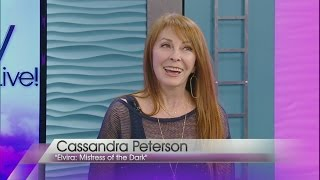 Cassandra Peterson, aka Elvira, stops by Valley View Live!