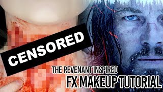 Bear Attack FX Makeup Tutorial Inspired by The Revenant
