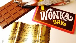 Willy Wonka and the Chocolate Factory - Wonka Bar Prop Replica Review
