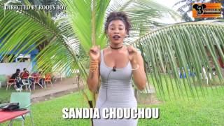 Sandia chouchou au beach coupé décalé