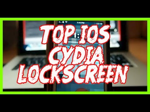Top iOS 6 Lockscreen Cydia Tweaks April 2013
