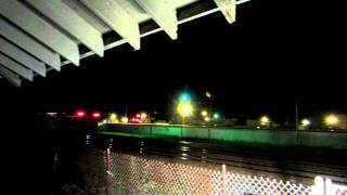 **200th Video!**(HD)RailFanning-Painesville Depot-Amtrack #49 Through The Night!