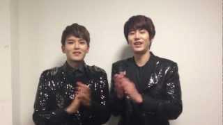 Super Junior-M_Ryeowook & Kyuhyun's Message