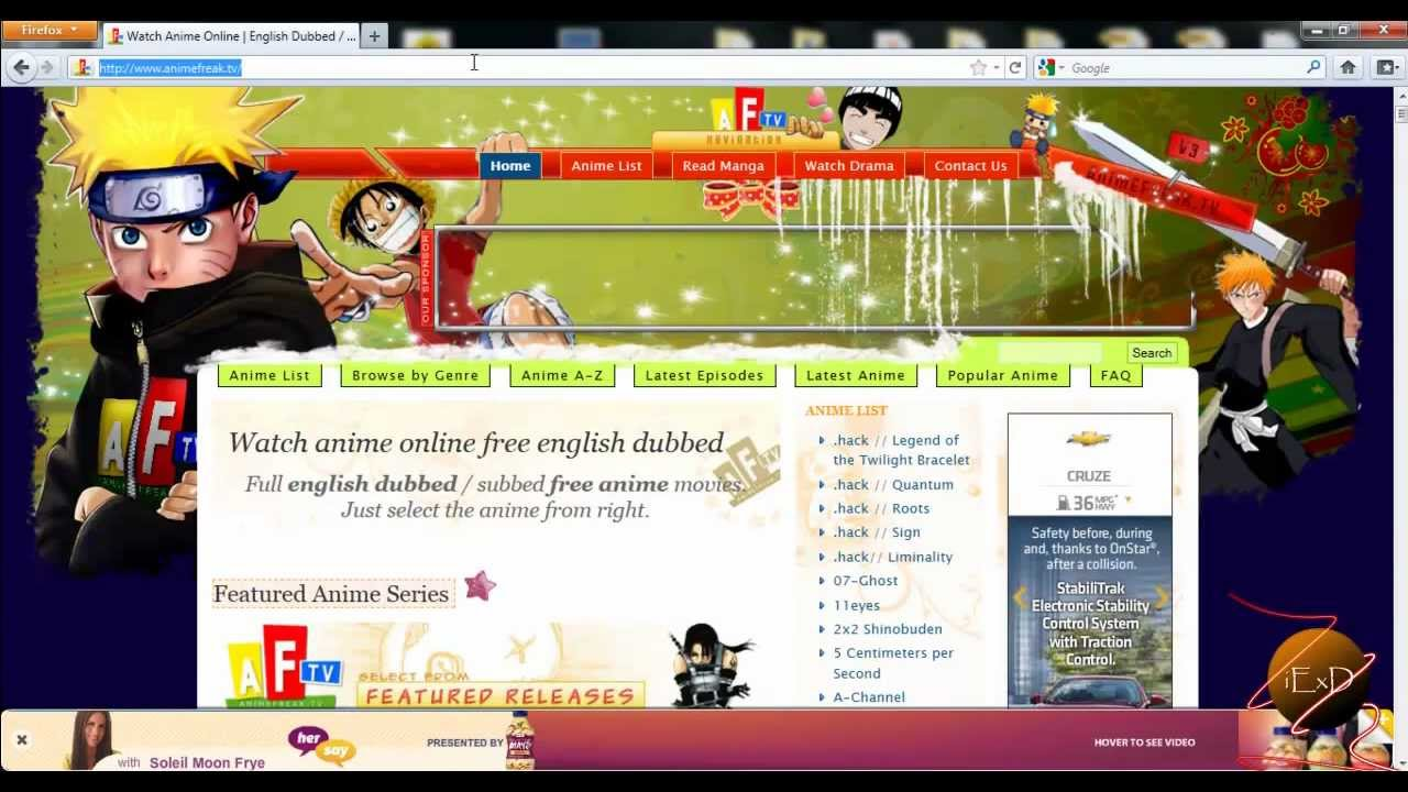 Top Dubbed Anime Streaming Websites - Top Anime Websites