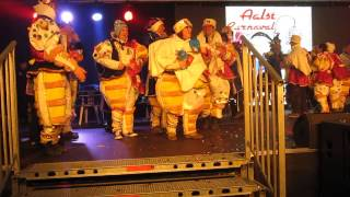Carnaval Aalst 2015 - Prijsuitreiking: Winnaars Middelgrote Groepen