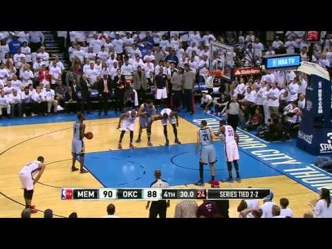 Memphis Grizzlies vs Oklahoma City Thunder Game 5 | April 29, 2014 | NBA Playoffs 2014