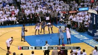Memphis Grizzlies vs Oklahoma City Thunder Game 5   April 29, 2014   NBA Playoffs 2014