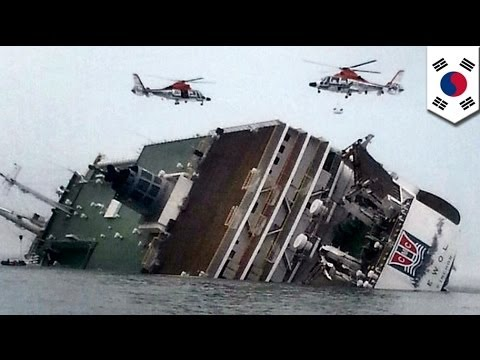 South Korean ferry disaster: Timeline of events showing what happened to the Sewol vessel