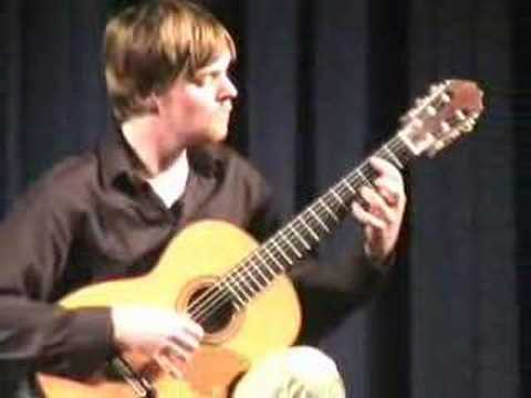 Robert Benedict - Scherzo - Brian White Guitar Recital
