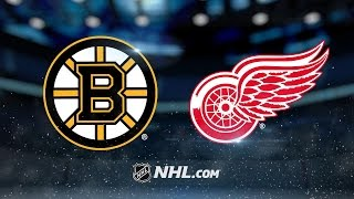 Red Wings outduel Bruins in high-scoring affair