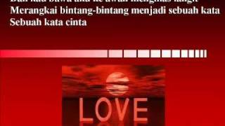 Terpanah Asmara   dengan lirik (oleh Bunga Citra Lestari )