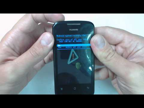 Huawei Ascend Y200 hard reset