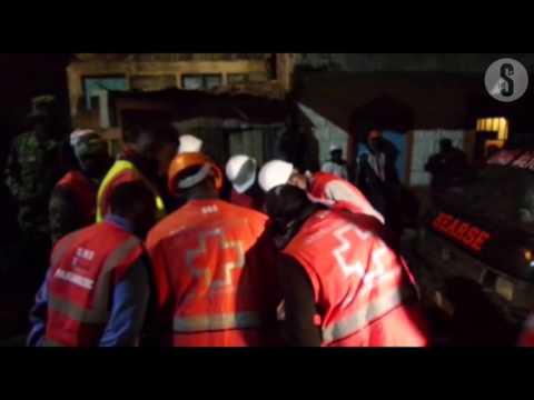 Rescue operations ongoing in Huruma Estate