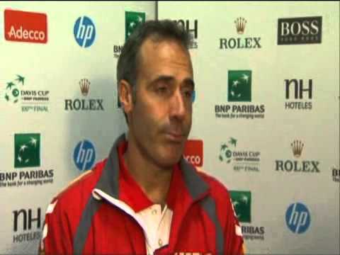 Alex Corretja on Czech Republic 3-2 Spain - Davis Cup Final