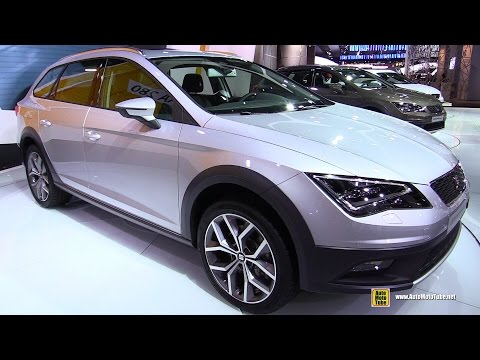 2015 Seat Leon X-Perience 4Drive - Exterior and Interior Walkaround - Debut at 2014 Paris Auto Show