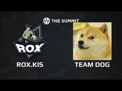 RoX.KIS -vs- Team Dog, The Summit, Day 2, game 1