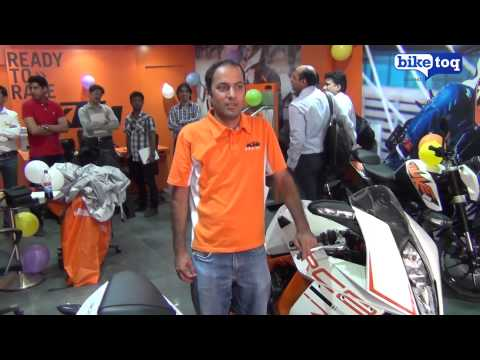 KTM`s Area Sales Manager revealing thier future plans for India to BikeToq.com
