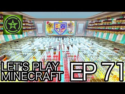 Let's Play Minecraft – Episode 71 – Maze in Buckingham Palace