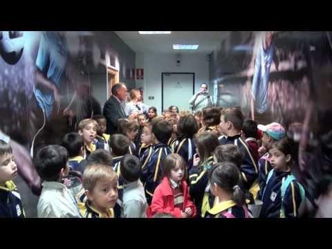 El Estadio Ciutat de València recibe la visita del Colegio Nuestra Señora del Socorro