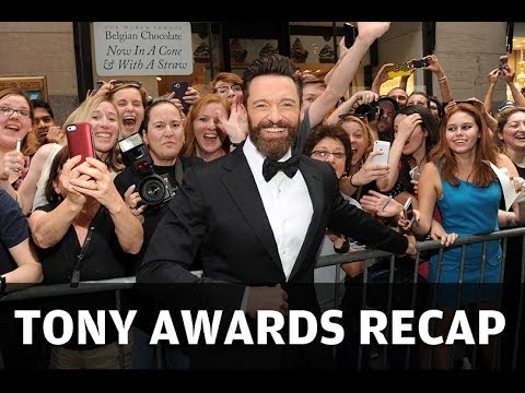 2014 Tony Awards: Hugh Jackman Raps, Bryan Cranston Wins Big & More