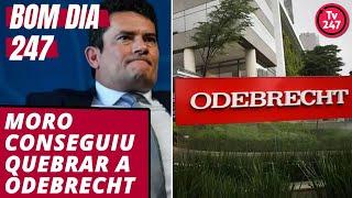 Bom dia 247 (18.6.19): E Moro quebrou a Odebrecht