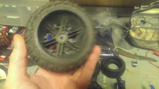Mamba Monster Slash 4x4 17mm 1/8 buggy wheels