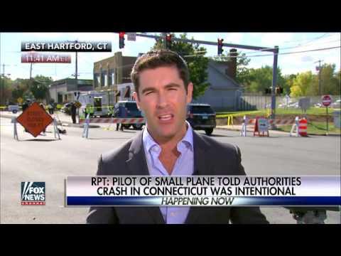 Pilot of Connecticut plane: Crash was intentional