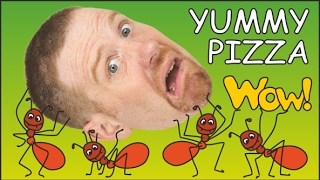 Yummy Pizza + More Food for Kids from Steve and Maggie | English Stories for Children | Wow English