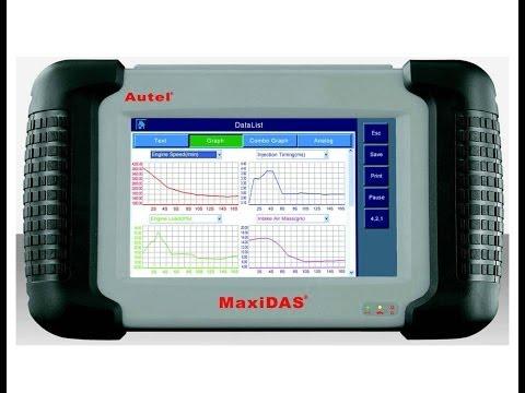 Autel MaxiDAS DS 708 программирование ключей Scoda Octavia