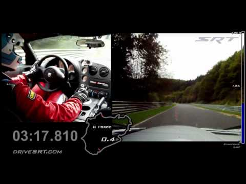 Dodge Viper ACR Recaptures Lap Record at Nurburgring