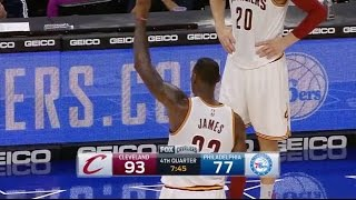 Sixers Crowd Give LeBron Standing Ovation for 25,000 Points Milestone