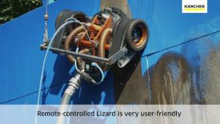 WOMA® EcoMaster and Magnet Lizard ultra-high pressure demo