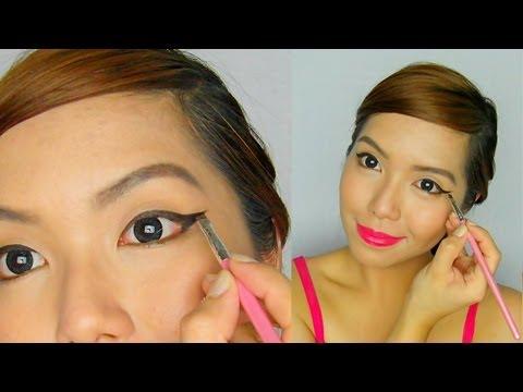 Terbaik.co  Natural   Make Tutorial Ala Untuk ala wajah korea bulat untuk natural Up Korea make Mata up