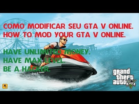 GTA V ONLINE - Como instalar Mods / Ser um Hacker - Tutorial completo pt-BR - DINHEIRO. RP. GODMODE